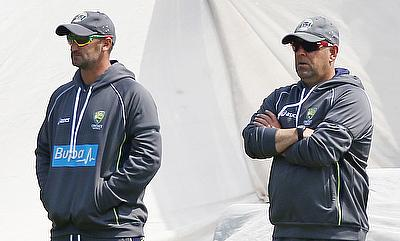 Michael Di Venuto (left) will leave the Australian team after their upcoming series against South Africa.
