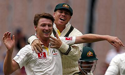 Bird's five-fer put Australia on brink of series victory