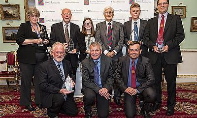 Last year's award winners