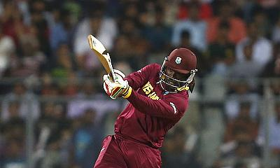 Chris Gayle hits out for the West Indies