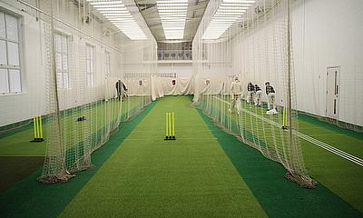 The new practice facilities at Leicestershire CCC