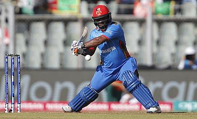 Mohammad Shahzad gave Afghanistan a blistering start with his 19-ball 44.