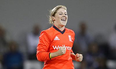 England Women survive Ekta Bisht scare to register a two-wicket win