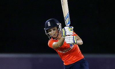 England Women top Group B after thumping victory over Pakistan Women