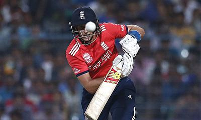 Joe Root scored 54 to help England put a decent score on the board