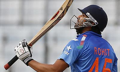Rohit Sharma powers Mumbai Indians to the second spot