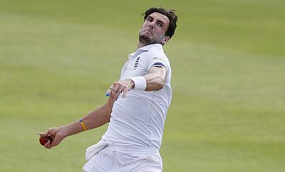 Steven Finn last played for England during the Test series against South Africa.