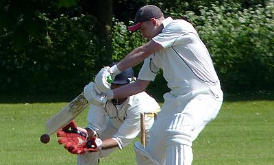 Ian Barrie, who scored a half-century to help Bessborough beat North London