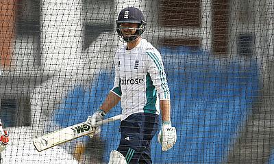 James Vince during nets at Headingley