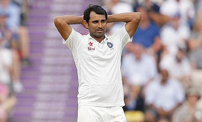 Mohammad Shami, who last played for India in 2015