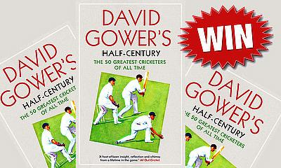 Win a copy of 'David Gower's Half-Century'