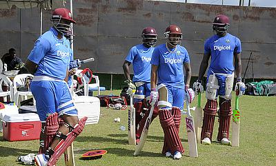 West Indies batting has been a concern for them in the series.