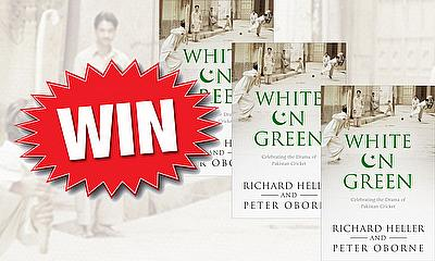 Win a copy of 'White On Green'
