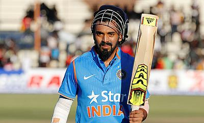 Lokesh Rahul was also awarded the man of the match for his unbeaten century.