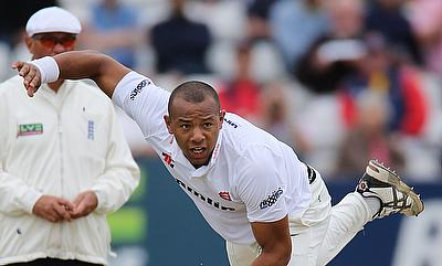 Tymal Mills (right) has 32 wickets from 26 T20 matches at an economy of 8.08.