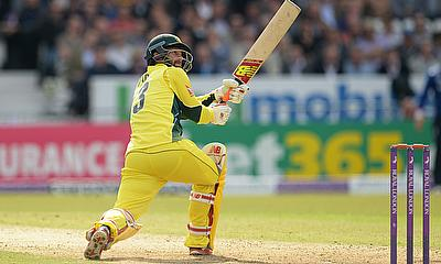 Matthew Wade in action for Australia