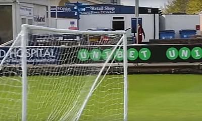 Was this crossbar threatened? Watch the video to find out