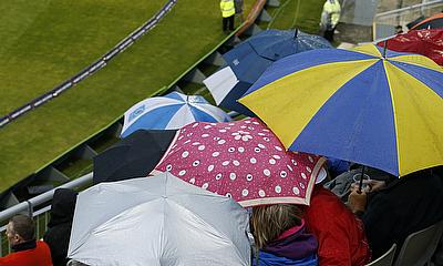 Tonight's match at Old Trafford was abandoned due to rain