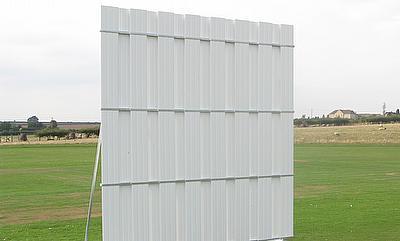 A Durant Cricket 4-metre sightscreen
