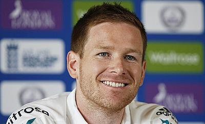 Eoin Morgan in a press conference ahead of the first ODI against Sri Lanka.