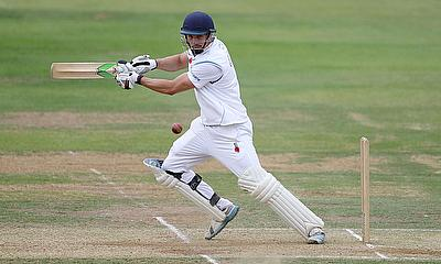 Billy Godleman completed a maiden double-century for Derbyshire against Worcestershire