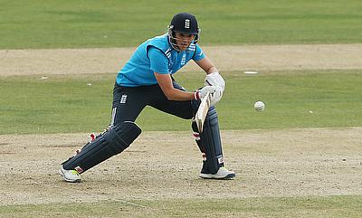 Tammy Beaumont scored 104 off 116 deliveries.