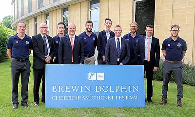 Brewin Dolphin are continuing their sponsorship of the Cheltenham Cricket Festival
