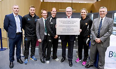 Construction of the Sir Rod Aldridge Cricket Centre was completed last month