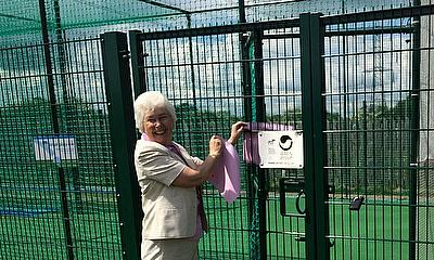 The facility is officially unveiled by Mrs Ros Jones, elected Mayor of Doncaster