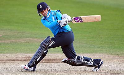 Lauren Winfield was among the runs once again for England Women.