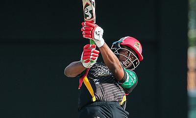 Evin Lewis scored 73 off just 36 deliveries for the Patriots.