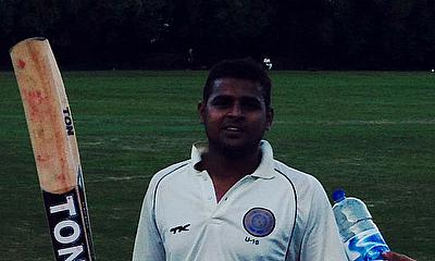 Urooj Ahmed struck 88, his highest score of the season so far