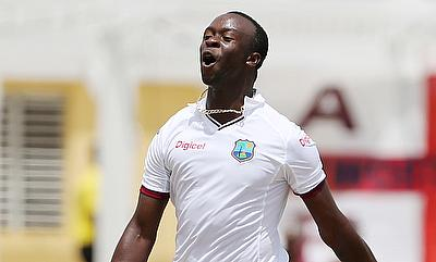 Kemar Roach was left out of the West Indies squad for the India series.