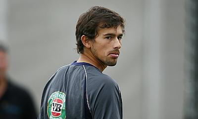 Ashton Agar injured his shoulder during the pre-season training with Western Australia.