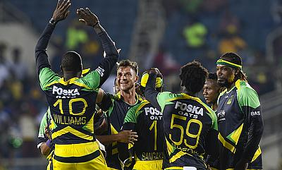 Dale Steyn picked up two wickets for the Jamaica Tallawahs.