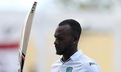 Jermaine Blackwood scored a half-century for the WICB President's XI in the second innings.