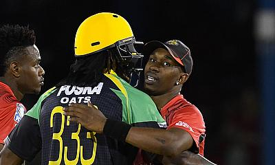 Two T20 giants collide when Chris Gayle's Jamaica Tallawahs take on Dwayne Bravo's Trinbago Knight Riders