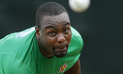 Tino Mawoyo was struck on the thumb during the practice game against New Zealand.