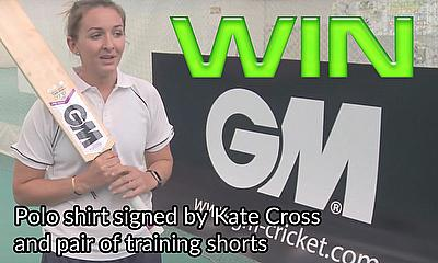 Win Gunn & Moore training gear - signed by Kate Cross