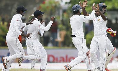 Rangana Herath picked yet another five-wicket haul for Sri Lanka.