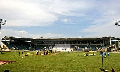 A view on Sabina Park stadium in Jamaica hosting the second Test.