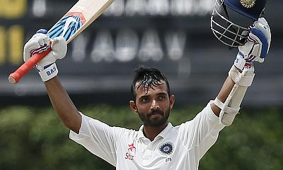 Ajinkya Rahane's century extended India's lead to 304 before the declaration came.