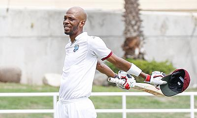Roston Chase scored a century and picked a five-wicket haul in the game.