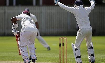 Dixon took the big wicket of Wilden Cornwall