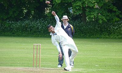 Young all-rounder Kibreeth Rameez who claimed a five-wicket haul to help Bessborough beat Winchmore Hill