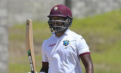 Darren Bravo scored a fifty for West Indies in the final innings.
