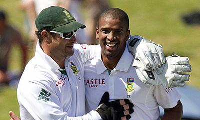 Mark Boucher (left) will also be working with the lower order in order to strengthen the batting line-up.