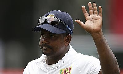 Rangana Herath picked 13 wickets in the game.