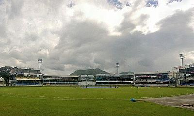The view from the Queen's Park Oval, Trinidad