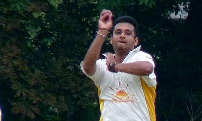 Rohan Desai in action